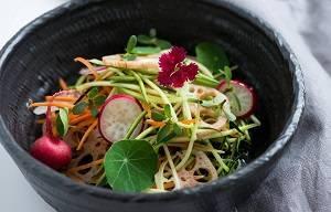 salada mamão